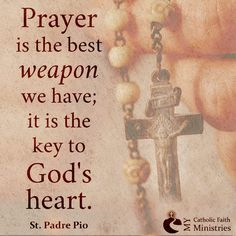 Padre Pio Prayer Pic