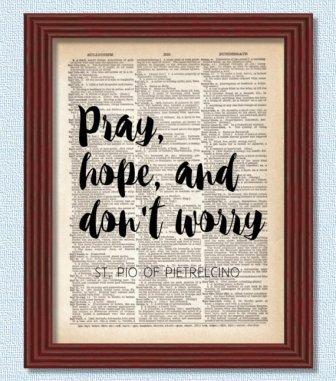 Padre Pio Scripture Pic