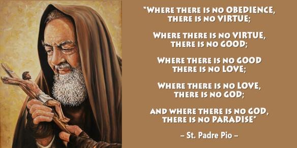 Padre Pio Virtue