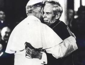 Fulton Sheen and JPII Oct 2 1979
