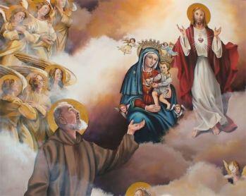 jesus mary and padre pio